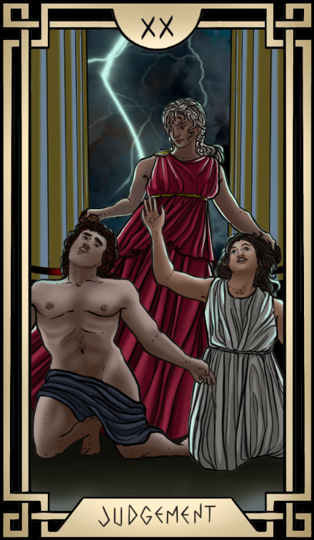 Stoic Tarot Judgement Tarot Card