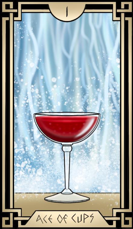 Stoic Tarot Ace of Cups Tarot Card