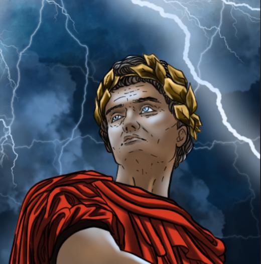 Julius Ceasar Stoic Tarot